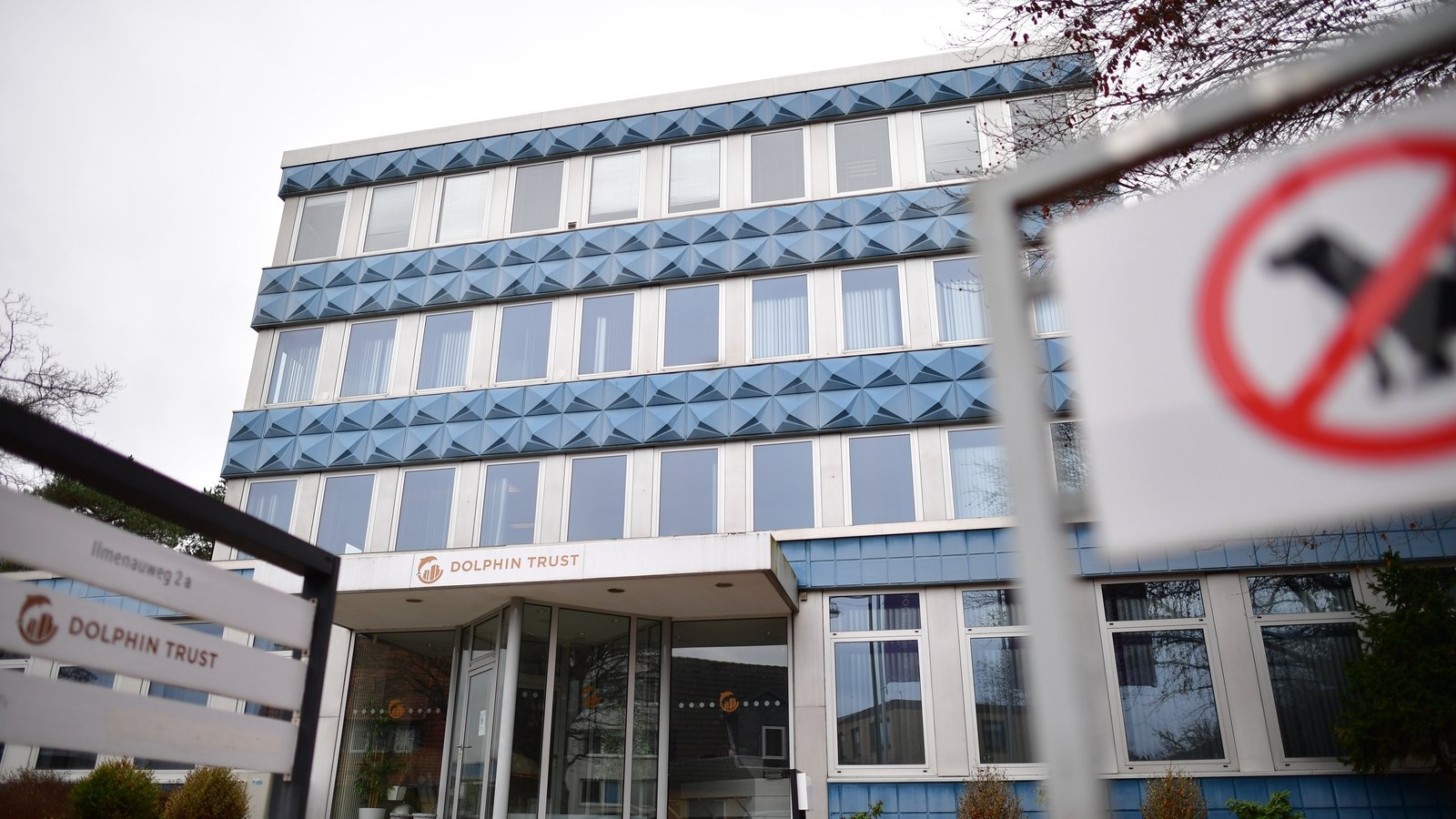 Image - The corporate headquarters of Dolphin Trust in Langenhagen, in Hanover, Germany
