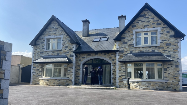 The house at Upper Ballycasheen in Killarney seized in the operation