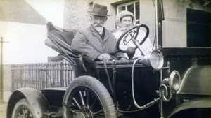 Dr Johnston pictured with his wife (Pics courtesy of www.finnvalleyhistory.com)