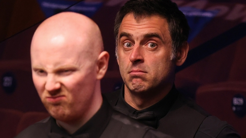 McGill and O'Sullivan are tied at 4-4