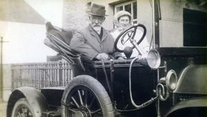 An Dr Johnson agus a bhean chéile