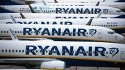 Ryanir said it flew 27.5 million passengers in its financial year ended March, down from 149 million the previous year