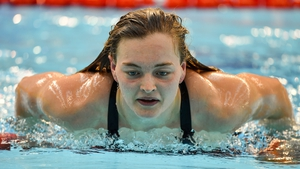 Mona McSharry set a new record in the 200m Breaststroke