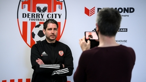 Ruaidhri Higgins is the new Derry City manager