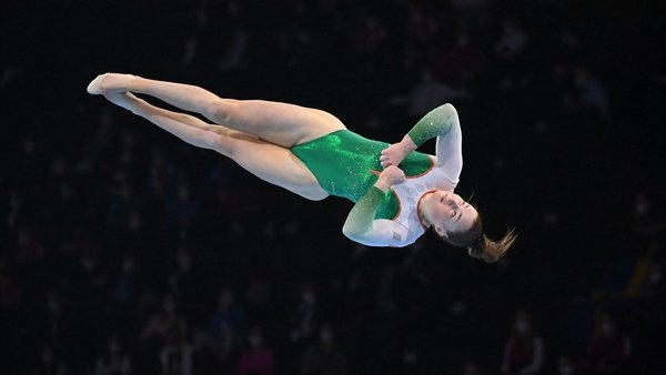 Emma Slevin is the first Irish female gymnast to reach an All-Around final at the European Gymnastics Championships