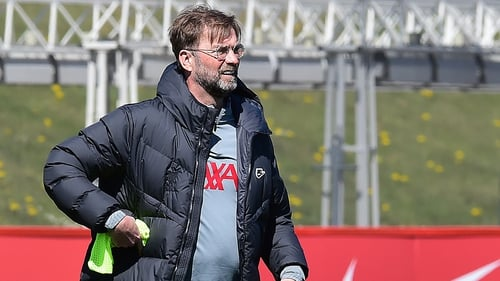 """Jurgen Klopp: """"As a team we have to be concentrated on the things we do such as football."""""""