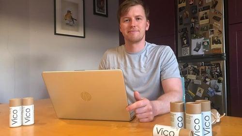 Ben Breslin founder of Vico Deodorant