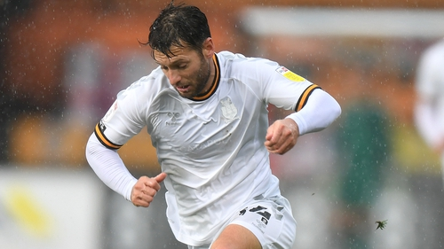 Wes Hoolahan in action against Newport County last October