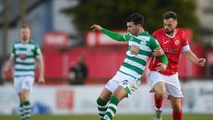 Shamrock Rovers and Sligo Rovers drew 1-1 earlier this season