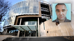 The judge said Declan Brady (above) was a trusted, close associate of the Kinahan gang