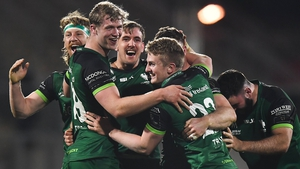Connacht celebrate their thrilling victory