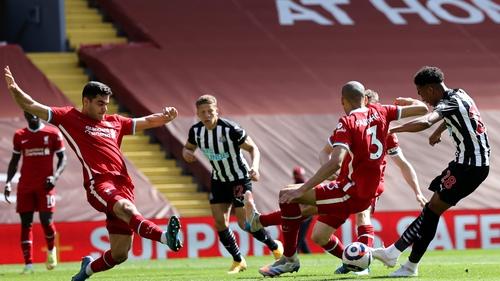 Joe Willock earned Newcastle a precious point