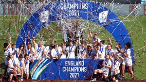England celebrate another success
