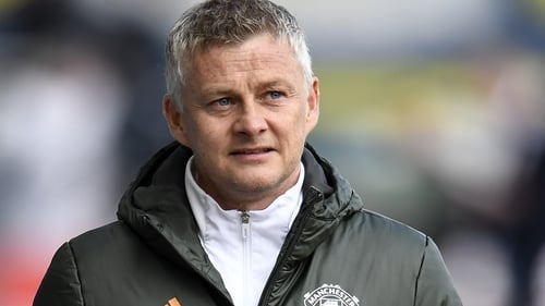 Ole Gunnar Solskjaer's side sit ten points behind Manchester City with five games remaining