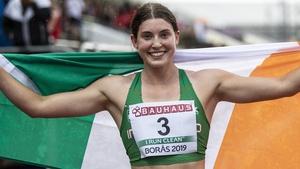 Kate O'Connor shone in Italy