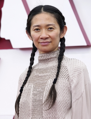 Nomadland's Chloé Zhao made history as only the second woman ever to win the Best Director Oscar