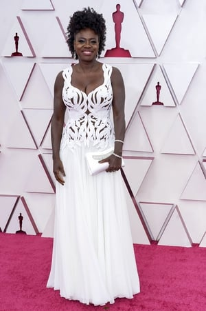 Viola Davis was nominated for her performance in Netflix's Ma Rainey's Black Bottom. She is currently the most Oscar-nominated Black actress ever