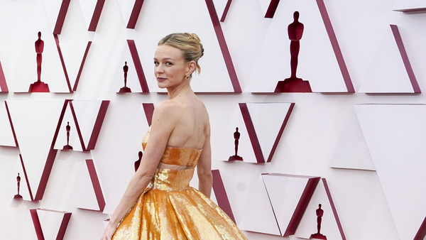 All the red carpet fashion, dresses and glam from the Oscars 2021. Photos: Getty