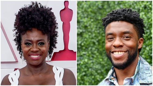 """Viola Davis said of Chadwick Boseman - """"This person, this human being, this artist did not mistake his presence for the event. He absolutely honoured the work"""""""