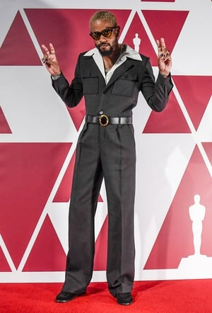Lakeith Stanfield in Saint Laurent (2021)