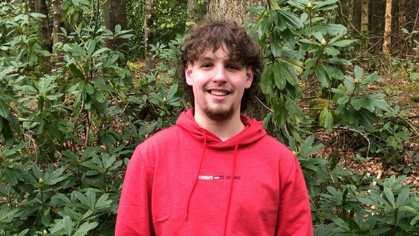 Sean Collins from Co Monaghan was named Young Carer of the Year in 2016, but his work did not stop there