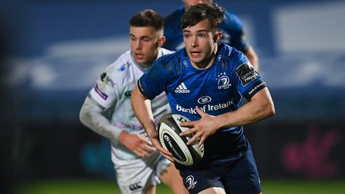 Osborne in action in the blue of Leinster