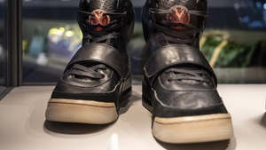 The shoes beat the record held by a pair of Nike Air Jordan 1s which sold for $615,000 in August 2020 at a Christie's auction