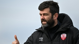 Treaty United manager Tommy Barrett