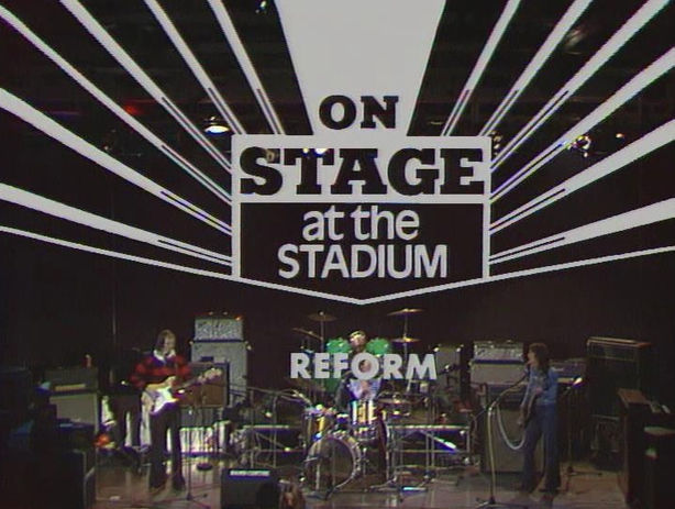 Limerick band 'Reform' 'On Stage at the Stadium' (1976)