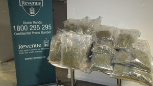The drugs were found in the spare tyres of the lorry's trailer
