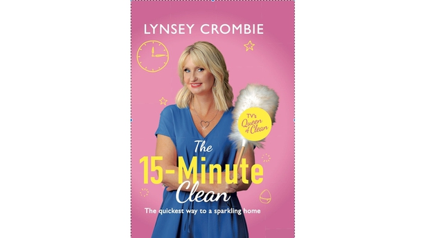 15 Minute Clean book by Lynsey Crombie