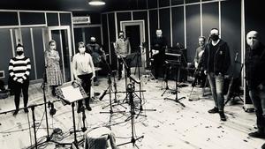 Tramyard in studio