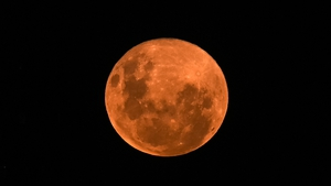 The full moon in April is also known as the 'pink moon' as it is named after pink flowers, known as phlox, which bloom in the springtime