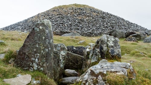 The Neolithic burial monument at Loughcrew in Co Meath