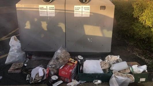 Litter problem grows as people enjoy outdoor activities