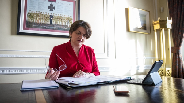 Arlene Foster has described her treatment as 'brutal, even by the standards of the DUP'