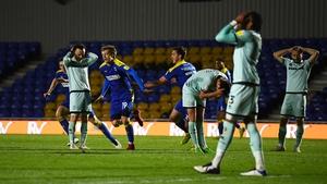 Joe Piggott scored in the seventh minute of injury time