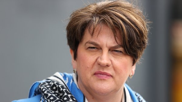 Arlene Foster said 'the threats and the lies' take their toll
