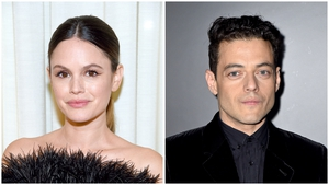 Rachel Bilson and Rami Malek have sorted out their differences