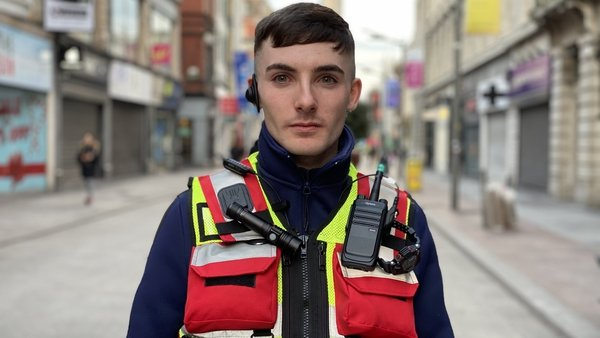 Brandon O'Connor set up Dublin Homeless Awareness in 2018