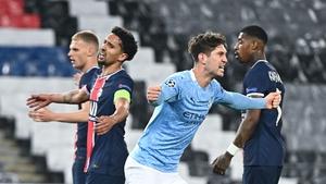 Captain Marquinhos said that PSG needed more composure against Manchester City