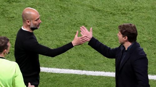 Guardiola and Pochettino will lock horns again on Tuesday next