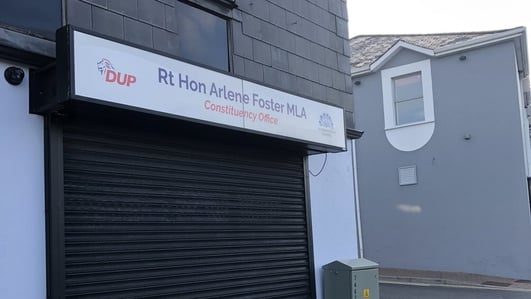 Local reaction to Arlene Foster's decision to step down as leader of the DUP