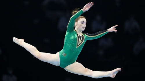 Emma Slevin in action at the European Championships