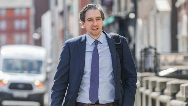 Simon Harris will take two weeks of paternity leave