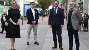 Sinead Heaney, partner at BDO; James Doody, Director at IBI Corporate Finance; Kieran Beggan and George Harold, co-founders of IFS