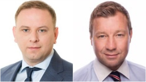 Mikhail Yegorov (left) and Alexander Afanaschenko (right)