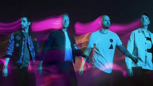 Coldplay. Photo credit: Dave Meyers