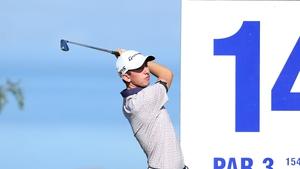 McKibbin managed four birdies in his opening round