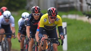 Dennis retained the yellow jersey